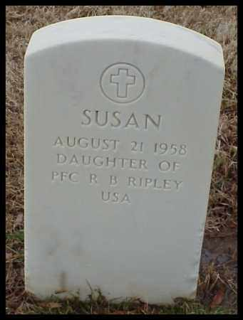 RIPLEY, SUSAN - Pulaski County, Arkansas | SUSAN RIPLEY - Arkansas Gravestone Photos