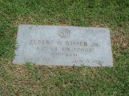 RISSER, JR (VETERAN VIET), ELBERT H - Pulaski County, Arkansas | ELBERT H RISSER, JR (VETERAN VIET) - Arkansas Gravestone Photos