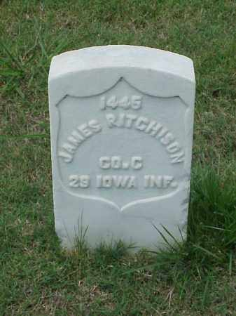 RITCHISON (VETERAN UNION), JAMES - Pulaski County, Arkansas | JAMES RITCHISON (VETERAN UNION) - Arkansas Gravestone Photos