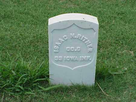 RITNER (VETERAN UNION), ISAAC M - Pulaski County, Arkansas | ISAAC M RITNER (VETERAN UNION) - Arkansas Gravestone Photos