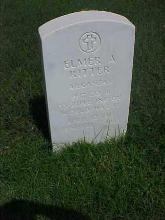 RITTER (VETERAN WWII), ELMER A - Pulaski County, Arkansas | ELMER A RITTER (VETERAN WWII) - Arkansas Gravestone Photos