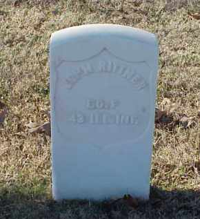 RITTNER (VETERAN UNION), JOHN - Pulaski County, Arkansas | JOHN RITTNER (VETERAN UNION) - Arkansas Gravestone Photos