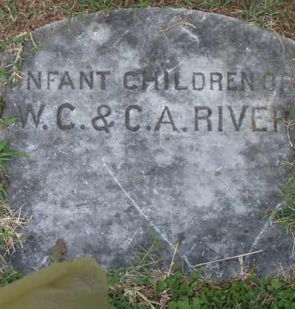 RIVERS, INFANT CHILDREN - Pulaski County, Arkansas | INFANT CHILDREN RIVERS - Arkansas Gravestone Photos