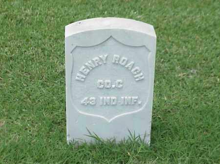 ROACH (VETERAN UNION), HENRY - Pulaski County, Arkansas | HENRY ROACH (VETERAN UNION) - Arkansas Gravestone Photos