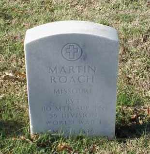 ROACH (VETERAN WWI), MARTIN - Pulaski County, Arkansas | MARTIN ROACH (VETERAN WWI) - Arkansas Gravestone Photos