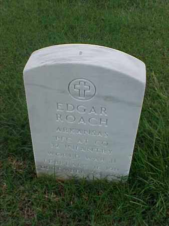 ROACH (VETERAN WWII), EDGAR - Pulaski County, Arkansas | EDGAR ROACH (VETERAN WWII) - Arkansas Gravestone Photos