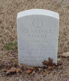 ROANE  (VETERAN WWI), CLARENCE - Pulaski County, Arkansas | CLARENCE ROANE  (VETERAN WWI) - Arkansas Gravestone Photos