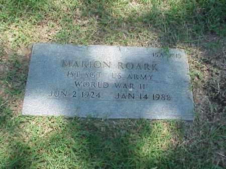 ROARK (VETERAN WWII), MARION - Pulaski County, Arkansas | MARION ROARK (VETERAN WWII) - Arkansas Gravestone Photos