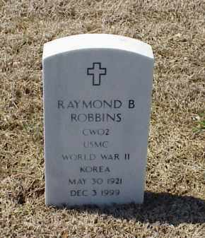 ROBBINS (VETERAN 2 WARS), RAYMOND B - Pulaski County, Arkansas | RAYMOND B ROBBINS (VETERAN 2 WARS) - Arkansas Gravestone Photos