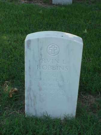 ROBBINS (VETERAN KOR), IRVIN L - Pulaski County, Arkansas | IRVIN L ROBBINS (VETERAN KOR) - Arkansas Gravestone Photos