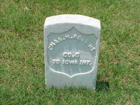 ROBBINS (VETERAN UNION), CHARLES H - Pulaski County, Arkansas | CHARLES H ROBBINS (VETERAN UNION) - Arkansas Gravestone Photos