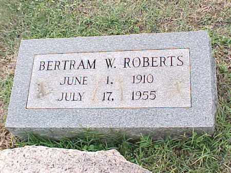 ROBERTS, BERTRAM W - Pulaski County, Arkansas | BERTRAM W ROBERTS - Arkansas Gravestone Photos