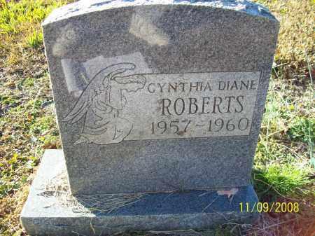 ROBERTS, CYNTHIA DIANE - Pulaski County, Arkansas | CYNTHIA DIANE ROBERTS - Arkansas Gravestone Photos