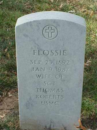 ROBERTS, FLOSSIE - Pulaski County, Arkansas | FLOSSIE ROBERTS - Arkansas Gravestone Photos
