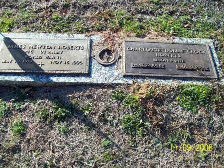 ROBERTS, JAMES NEWTON - Pulaski County, Arkansas | JAMES NEWTON ROBERTS - Arkansas Gravestone Photos
