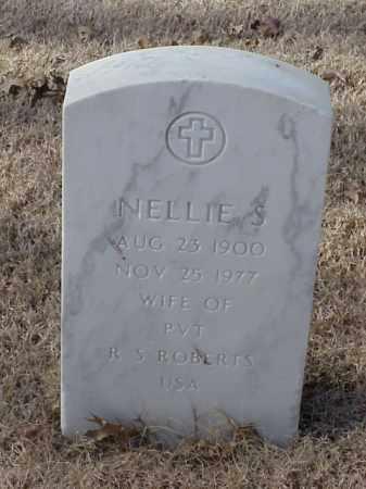 ROBERTS, NELLE S - Pulaski County, Arkansas | NELLE S ROBERTS - Arkansas Gravestone Photos
