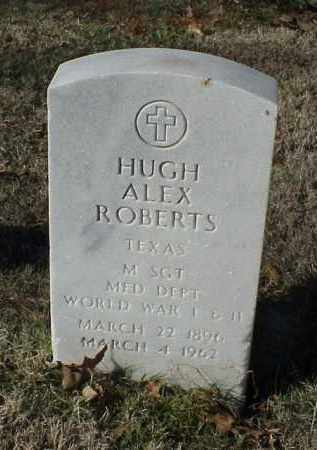 ROBERTS (VETERAN 2 WARS), HUGH ALEX - Pulaski County, Arkansas | HUGH ALEX ROBERTS (VETERAN 2 WARS) - Arkansas Gravestone Photos