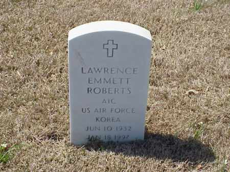 ROBERTS (VETERAN KOR), LAWRENCE EMMETT - Pulaski County, Arkansas | LAWRENCE EMMETT ROBERTS (VETERAN KOR) - Arkansas Gravestone Photos