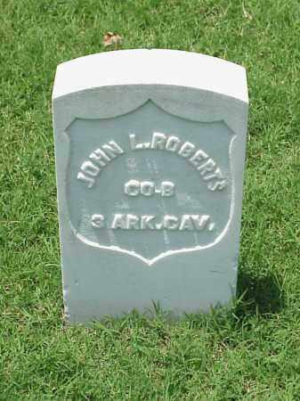 ROBERTS (VETERAN UNION), JOHN L - Pulaski County, Arkansas | JOHN L ROBERTS (VETERAN UNION) - Arkansas Gravestone Photos