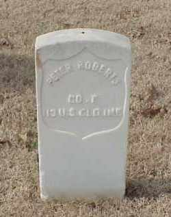 ROBERTS (VETERAN UNION), PETER - Pulaski County, Arkansas | PETER ROBERTS (VETERAN UNION) - Arkansas Gravestone Photos