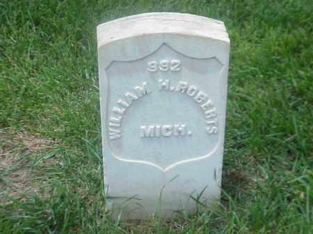 ROBERTS (VETERAN UNION), WILLIAM H - Pulaski County, Arkansas | WILLIAM H ROBERTS (VETERAN UNION) - Arkansas Gravestone Photos