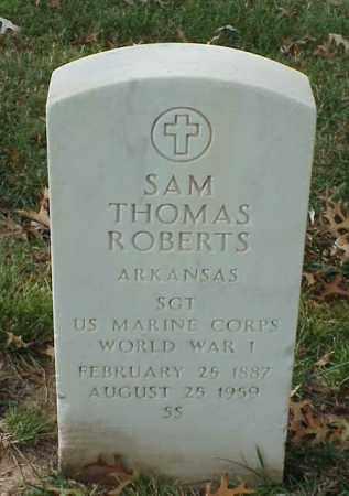ROBERTS (VETERAN WWI), SAM THOMAS - Pulaski County, Arkansas | SAM THOMAS ROBERTS (VETERAN WWI) - Arkansas Gravestone Photos