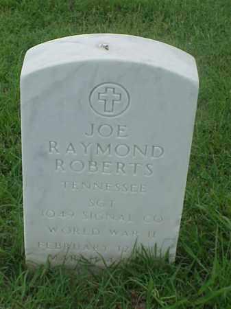 ROBERTS (VETERAN WWII), JOE RAYMOND - Pulaski County, Arkansas | JOE RAYMOND ROBERTS (VETERAN WWII) - Arkansas Gravestone Photos