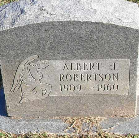 ROBERTSON, ALBERT J - Pulaski County, Arkansas | ALBERT J ROBERTSON - Arkansas Gravestone Photos