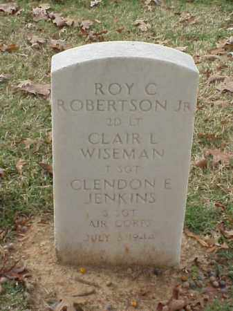 ROBERTSON, JR  (VETERAN), ROY C - Pulaski County, Arkansas | ROY C ROBERTSON, JR  (VETERAN) - Arkansas Gravestone Photos