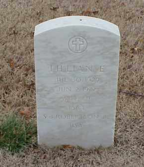 ROBERTSON, LILLIAN E - Pulaski County, Arkansas | LILLIAN E ROBERTSON - Arkansas Gravestone Photos