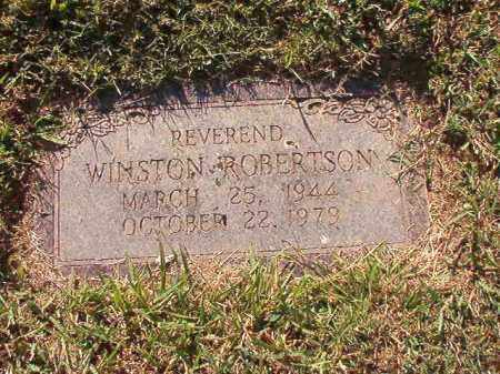 ROBERTSON, REV, WINSTON - Pulaski County, Arkansas | WINSTON ROBERTSON, REV - Arkansas Gravestone Photos