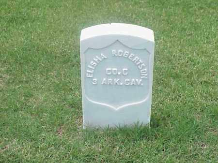 ROBERTSON (VETERAN UNION), ELISHA - Pulaski County, Arkansas | ELISHA ROBERTSON (VETERAN UNION) - Arkansas Gravestone Photos