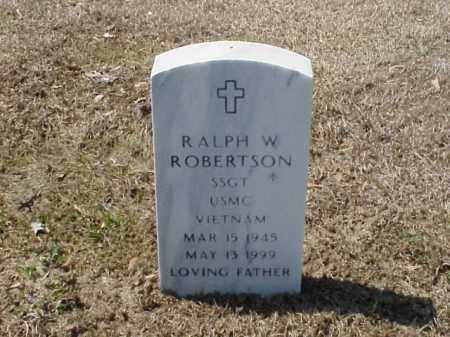 ROBERTSON (VETERAN VIET), RALPH W - Pulaski County, Arkansas   RALPH W ROBERTSON (VETERAN VIET) - Arkansas Gravestone Photos