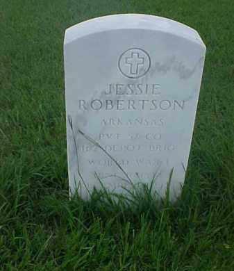 ROBERTSON (VETERAN WWI), JESSIE - Pulaski County, Arkansas | JESSIE ROBERTSON (VETERAN WWI) - Arkansas Gravestone Photos
