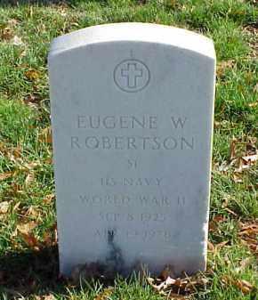 ROBERTSON (VETERAN WWII), EUGENE W - Pulaski County, Arkansas | EUGENE W ROBERTSON (VETERAN WWII) - Arkansas Gravestone Photos