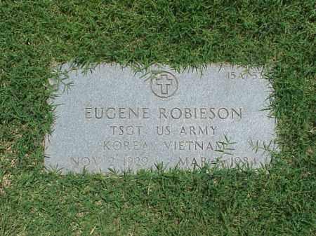 ROBIESON (VETERAN 2 WARS), EUGENE - Pulaski County, Arkansas | EUGENE ROBIESON (VETERAN 2 WARS) - Arkansas Gravestone Photos