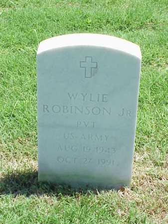 ROBINSON, JR (VETERAN), WYLIE - Pulaski County, Arkansas | WYLIE ROBINSON, JR (VETERAN) - Arkansas Gravestone Photos