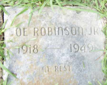 ROBINSON,  JR., JOE - Pulaski County, Arkansas | JOE ROBINSON,  JR. - Arkansas Gravestone Photos
