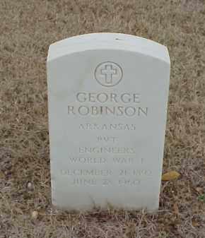ROBINSON  (VETERAN WWI), GEORGE - Pulaski County, Arkansas | GEORGE ROBINSON  (VETERAN WWI) - Arkansas Gravestone Photos