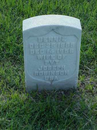 ROBINSON, BENNIS - Pulaski County, Arkansas | BENNIS ROBINSON - Arkansas Gravestone Photos