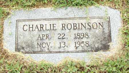 ROBINSON, CHARLIE - Pulaski County, Arkansas | CHARLIE ROBINSON - Arkansas Gravestone Photos