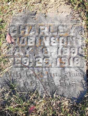 ROBINSON, CHARLEY - Pulaski County, Arkansas | CHARLEY ROBINSON - Arkansas Gravestone Photos