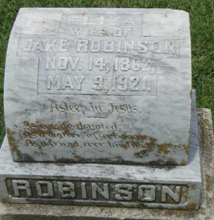 ROBINSON, ELIZA - Pulaski County, Arkansas | ELIZA ROBINSON - Arkansas Gravestone Photos