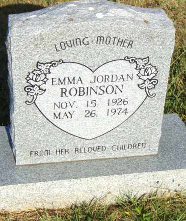 JORDAN ROBINSON, EMMA - Pulaski County, Arkansas | EMMA JORDAN ROBINSON - Arkansas Gravestone Photos