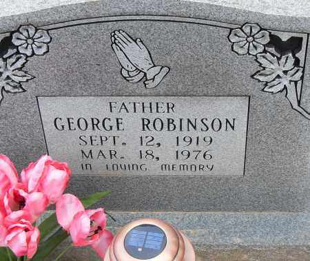 ROBINSON, GEORGE - Pulaski County, Arkansas | GEORGE ROBINSON - Arkansas Gravestone Photos
