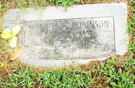 ROBINSON, HORACE W. - Pulaski County, Arkansas | HORACE W. ROBINSON - Arkansas Gravestone Photos