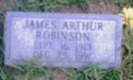 ROBINSON, JAMES ARTHUR - Pulaski County, Arkansas | JAMES ARTHUR ROBINSON - Arkansas Gravestone Photos