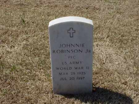 ROBINSON, JR  (VETERAN WWII), JOHNNIE - Pulaski County, Arkansas | JOHNNIE ROBINSON, JR  (VETERAN WWII) - Arkansas Gravestone Photos