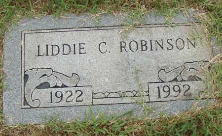 ROBINSON, LIDDIE C. - Pulaski County, Arkansas | LIDDIE C. ROBINSON - Arkansas Gravestone Photos