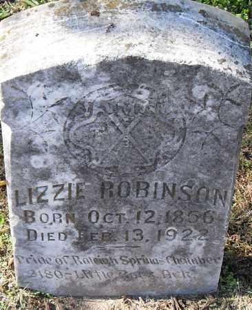 ROBINSON, LIZZIE - Pulaski County, Arkansas | LIZZIE ROBINSON - Arkansas Gravestone Photos